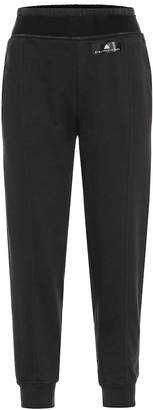 adidas by Stella McCartney Cotton-blend trackpants