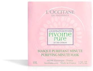 L'Occitane Peony Purifying Minute Mask