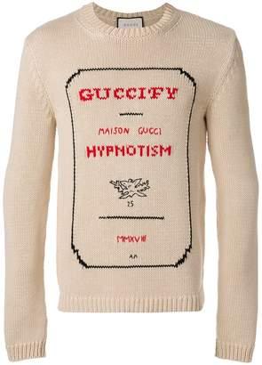Gucci Guccify Hypnotism sweater