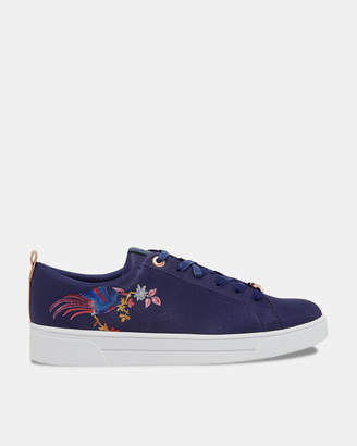 Ted Baker GIELLIE Embroidered tennis trainers