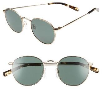 Women's Raen Benson 51Mm Polarized Sunglasses - Gold/ Brindle $185 thestylecure.com