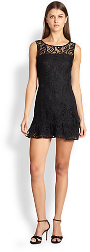 Nanette Lepore Mambo Lace Dress