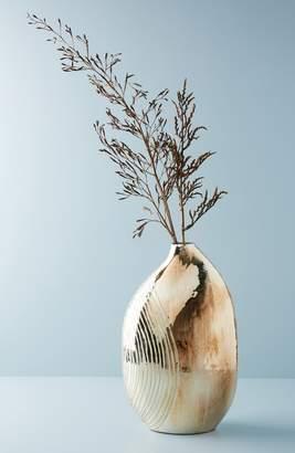 Anthropologie Obloid Mercury Glass Vase