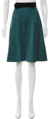 Marc by Marc Jacobs Silk Knee-Length Skirt
