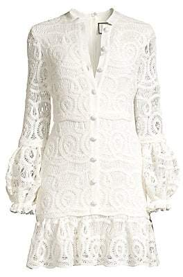 Alexis Women's Liliyan Lace Mini Dress