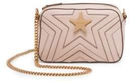 Stella McCartney Faux Leather Mini Star Crossbody Bag