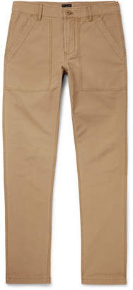 J.Crew Cotton-Ripstop Trousers - Tan