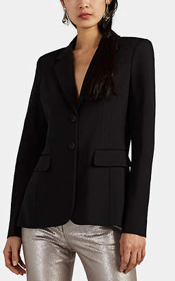 Altuzarra Women's Fenice Ponte Two-Button Blazer - Black
