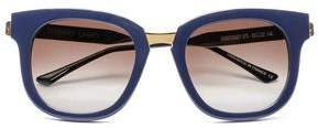 Thierry Lasry Square-Frame Gold-Tone And Acetate Sunglasses