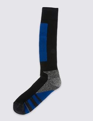 Marks and Spencer Wool Blend Knee High Ski Socks