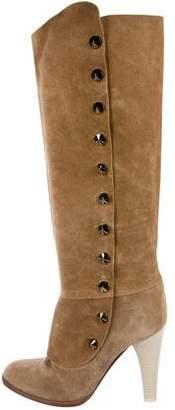 Ungaro Suede Knee-High Boots