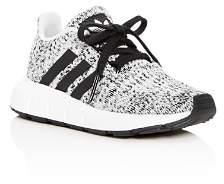 adidas Unisex Swift Run Knit Lace-Up Sneakers - Walker, Toddler