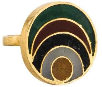 Pippa Small Multistone Parwana Ring