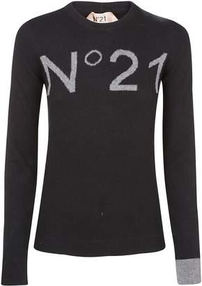 N°21 N.21 Slim Fit Logo Sweater