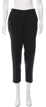 6397 Wool Cropped Straight-Leg Pants