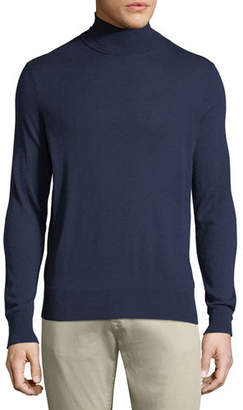 Neiman Marcus Men's Cashmere/Silk Turtleneck Sweater