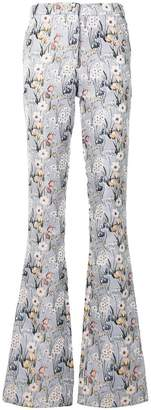 Giuseppe Di Morabito flared floral trousers