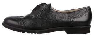 Salvatore Ferragamo Leather Brogue Oxfords