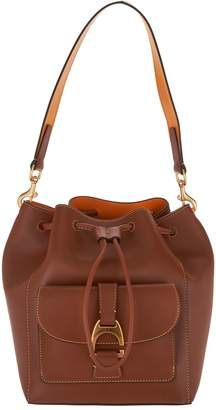 Dooney & Bourke Emerson Leather Drawstring Bag - Marlowe