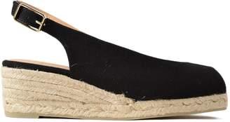 Castaner Peep Toe Slingback Sandals