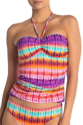 BLEU by Rod Beattle Bandeau Tankini Top