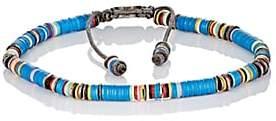 M. Cohen Men's Rondelle Bracelet-Blue