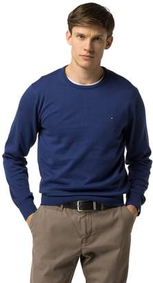 Tommy Hilfiger Cotton And Silk Crewneck Sweater