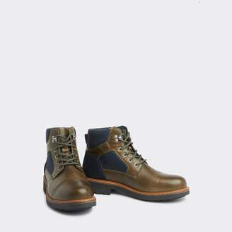 Tommy Hilfiger Colorblock Leather Boot