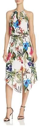 Parker Herley Floral Silk Dress