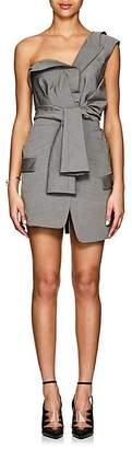 Alexander Wang Women's Tie-Front Wool-Mohair Blazer Dress