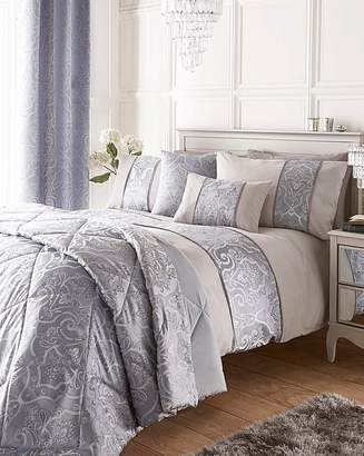 Jacquard duvet cover shopstyle uk at fashion world fashion world stranford jacquard duvet cover set gumiabroncs Image collections