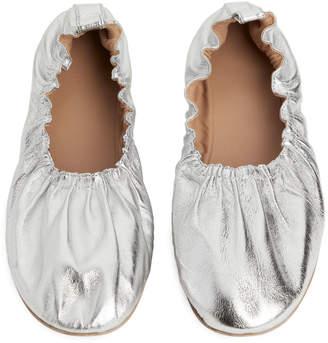 Arket Soft Leather Ballerinas