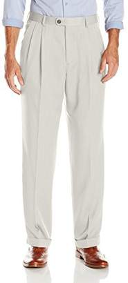 Perry Ellis Men's Big & Tall Portfolio Micro Melange Pant