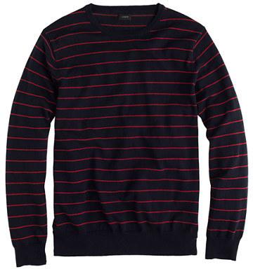 J.Crew Cotton-cashmere sweater in stripe