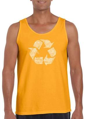 Los Angeles Pop Art Big Men's Tank Top - 86 Recyclable Products