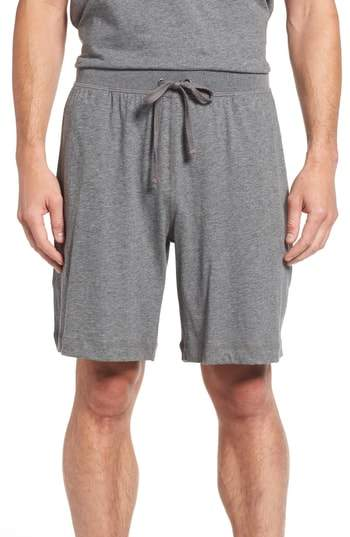 Daniel Buchler Pima Cotton Lounge Shorts