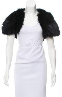J. Mendel Cutout Fur Bolero