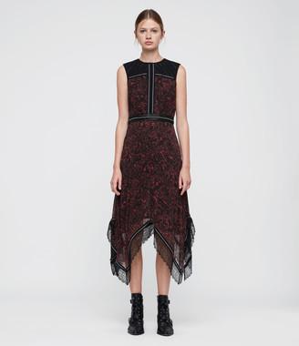 AllSaints Adella Rosey Dress