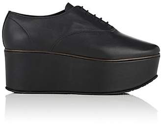 Repetto WOMEN'S DONIE LEATHER PLATFORM OXFORDS