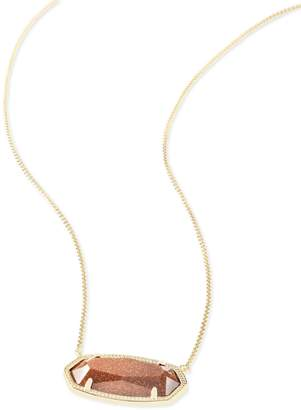 Kendra Scott Delaney Pendant Necklace in Gold