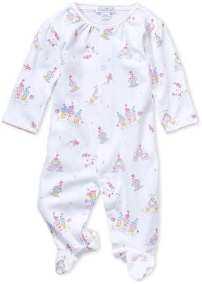 Kissy Kissy Newborn Girls) White Candy Castle Footie