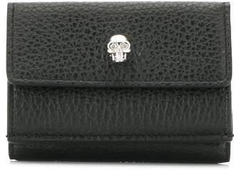 Alexander McQueen tri-fold skull wallet