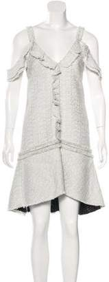 Proenza Schouler Tweed Knee-Length Dress