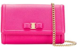 Salvatore Ferragamo Vara bow clutch