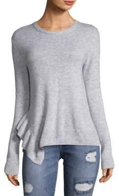 Derek Lam 10 Crosby Wool Asymmetric Sweater