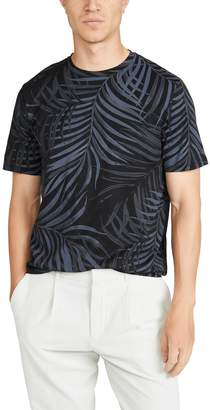 Theory Short Sleeve Floral Tee