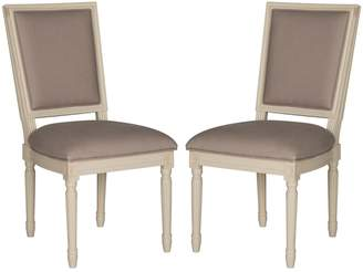 Safavieh Buchanan Taupe Dining Chair 2-piece Set
