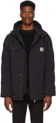 Carhartt Work In Progress Black Alpine Coat