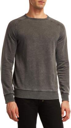 Lucky Brand Venice Burnout Fleece Sweatshirt