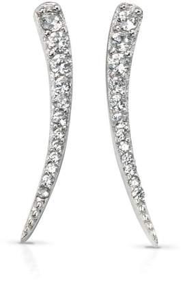 8991ad520 John Greed Desert Curved Bar Silver Earrings